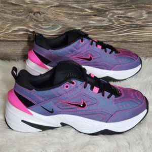 New Nike M2K Tekno SE Purple Pink Sneakers